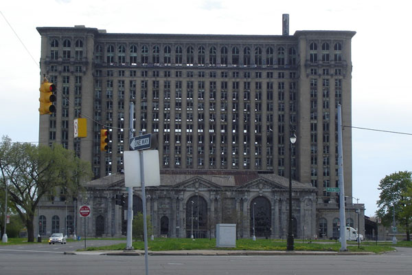 Michigan Central Station, Детройт, США