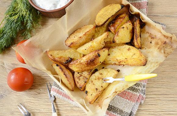 Картошка в духовке по-селянс…