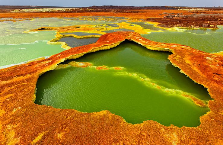 Вулкан Даллол (Эфиопия)