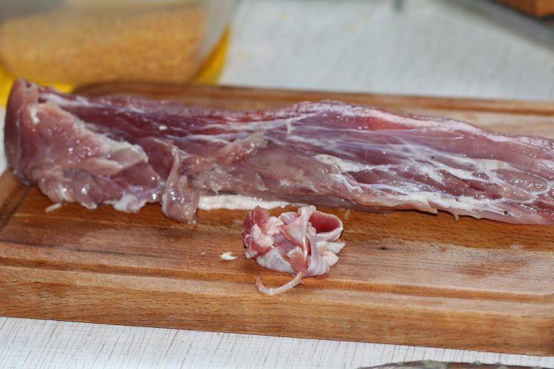 Рецепт запеченной свиной вырезки с фото