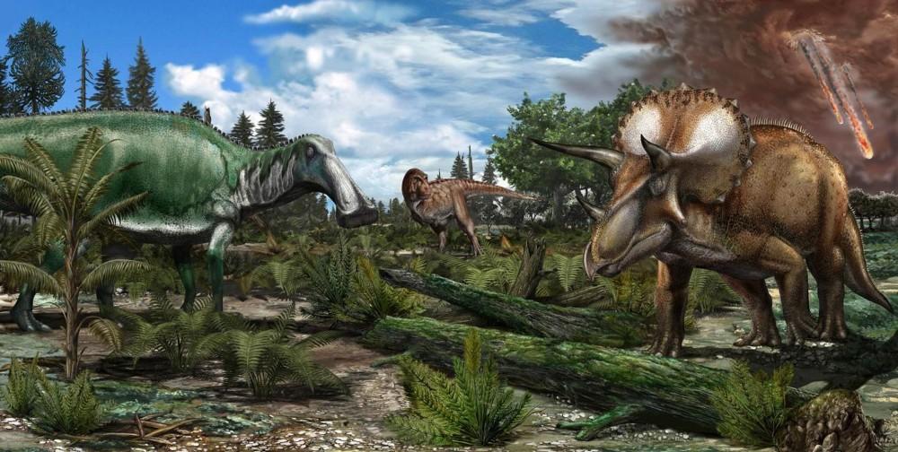 Динозавры процветали, несмот…