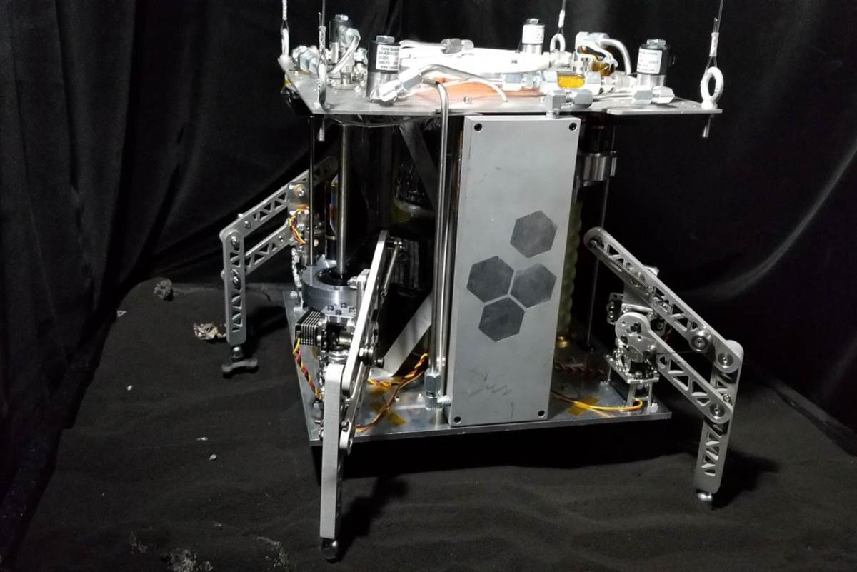 Прошли испытания парового космического зонда