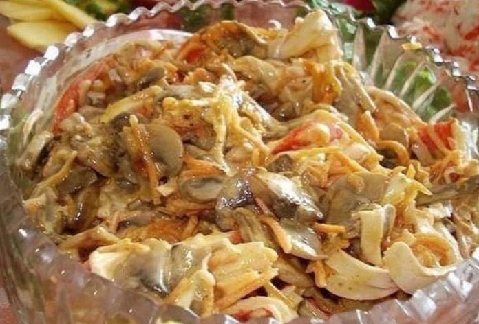 Люблю готовить это салат для…