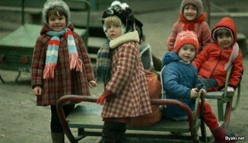 Любимые развлечения детей времен СССР