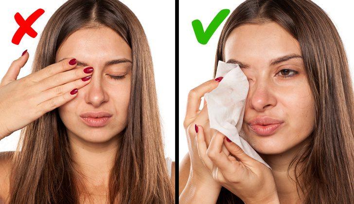 Вещи, которые могут навредить вашим глазам