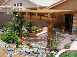 Навесы для дачи своими руками: как построить во дворе надежное укрытие от солнца и дождя