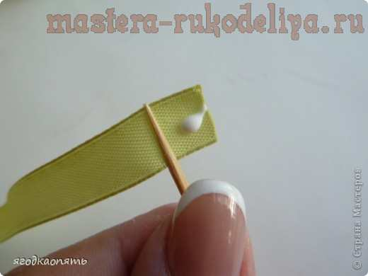 Мастер-класс: Мини-розочки на зубочистках