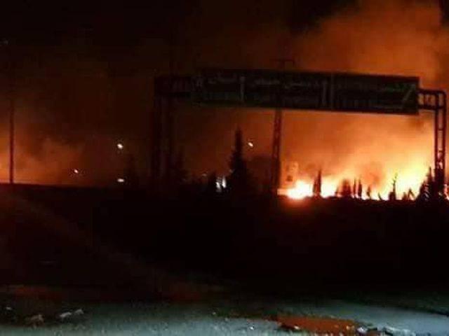 Какой объект под Дамаском подвергся ракетной атаке ВВС Израиля?