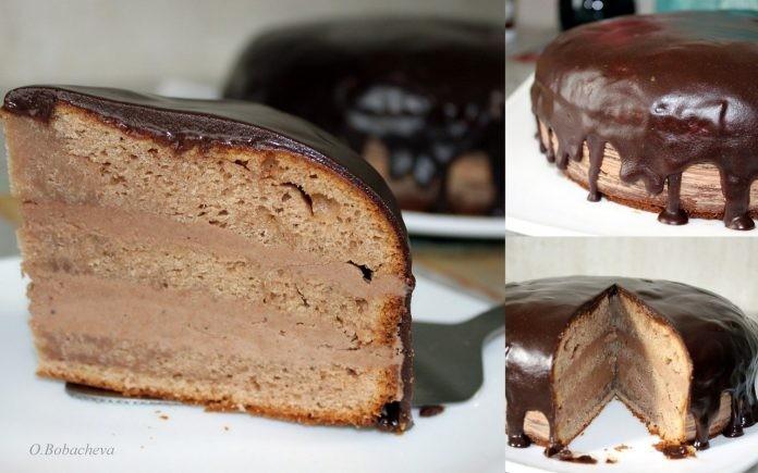 Торт «Прага». Рецепт из конд…