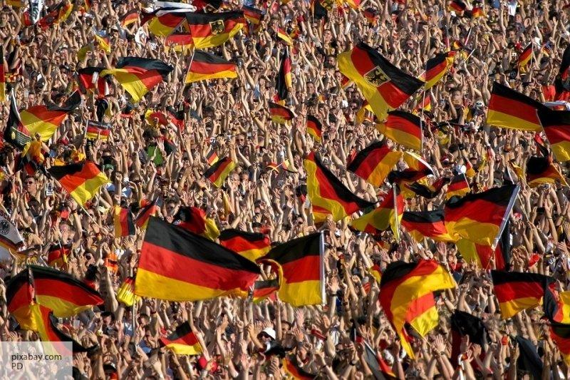 В Германии митингующие снова…