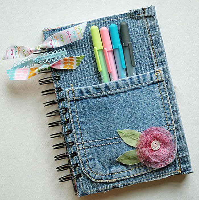 Новые креативные идеи по переделке старых джинс