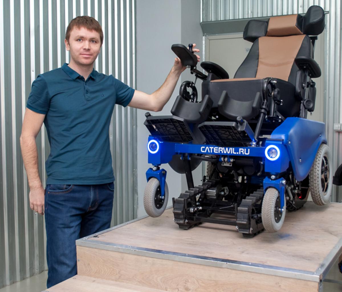 Российский инженер создал инвалидную коляску, управляемую силой мысли