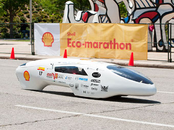 Канадские студенты построили машину с расходом 0,06 литра