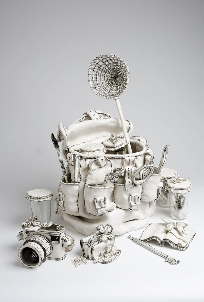Керамические скульптуры Катарины Морлинг