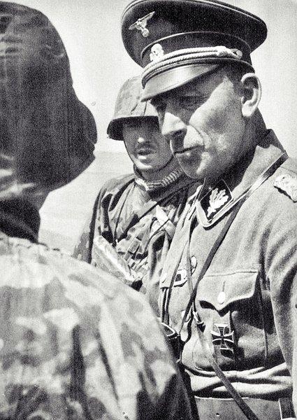 Пауль Хауссер - «папа» танкистов СС