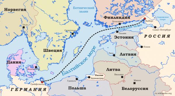 «Гринпису» отказали виске против «Северного потока-2»