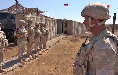 Российские военные провели патрулирование у Голанских высот в Сирии