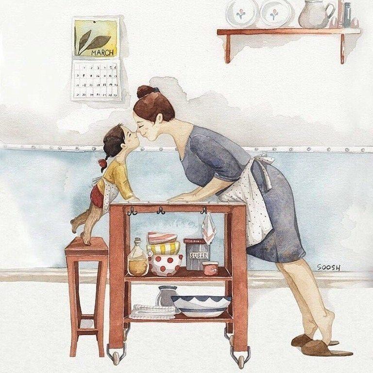 Главных трое: мама, папа и ребенок