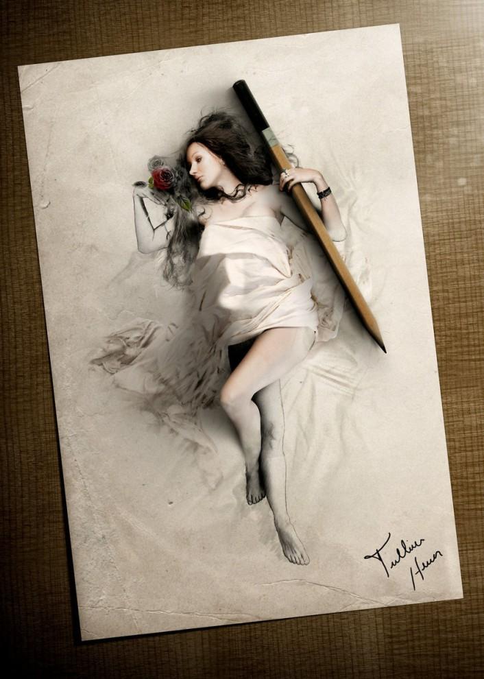 Гиперреалистичная цифровая живопись
