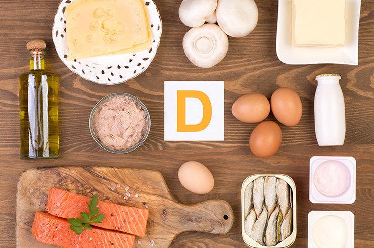 Признаки нехватки витамина D