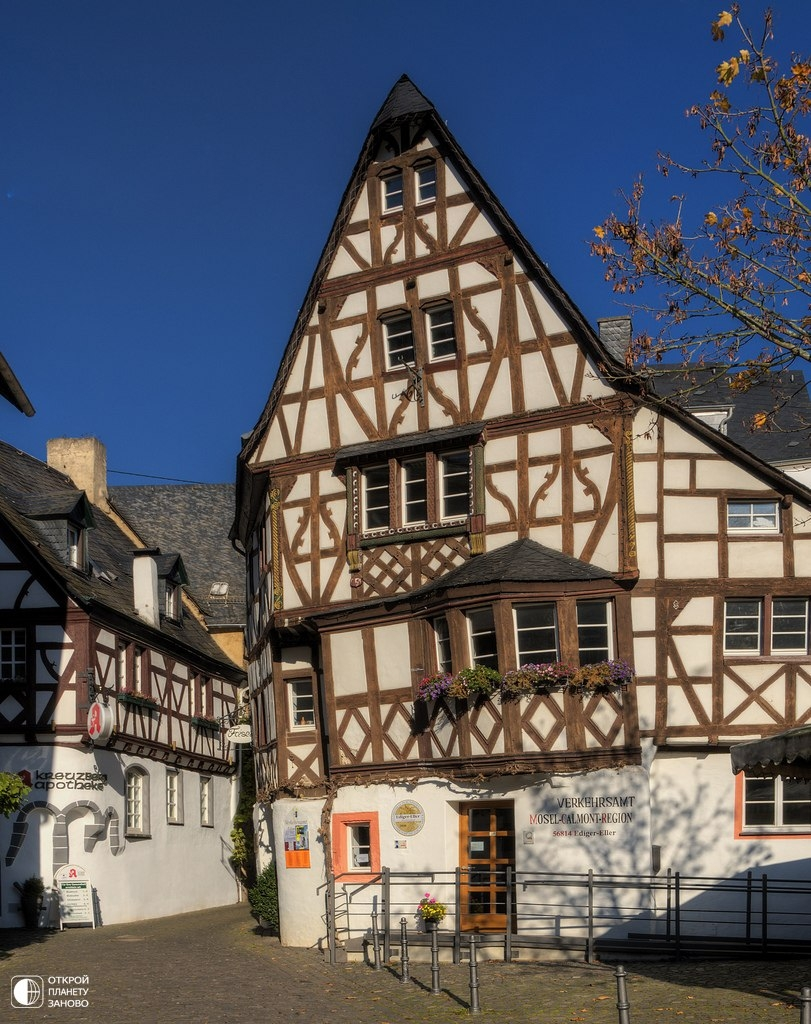 Один из самых романтичных городов Германии – Кохем