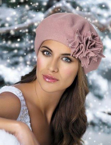 Очаровательные осенние шапочки и шляпки для очаровательных дам