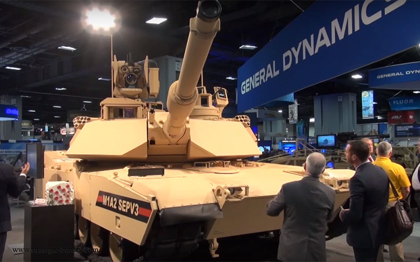 Армия США переименовала последние модификации танка M1A2 Abrams