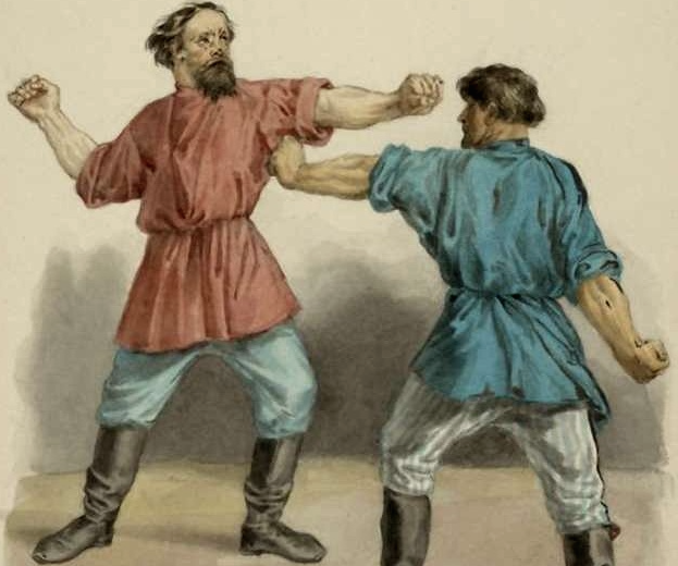 Негласные правила драки у русских мужиков