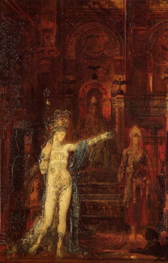 Саломея танцует перед Иродом - Гюстав Моро