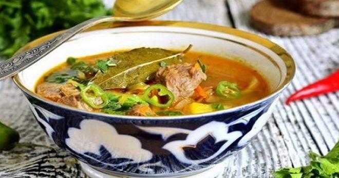 Шурпа из свинины - вкусное и очень сытное блюдо с простыми рецептами