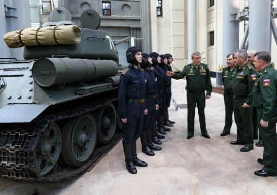 Новая элитная танковая часть