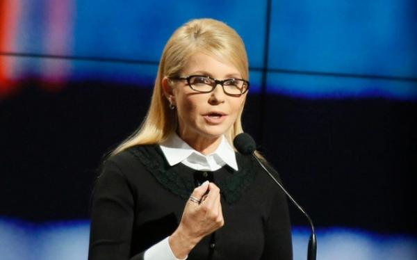 Тимошенко заявила, что Россия должна Украине 100 млрд. евро за Донбасс и Крым