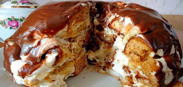 Торты без выпечки. 9 рецептов