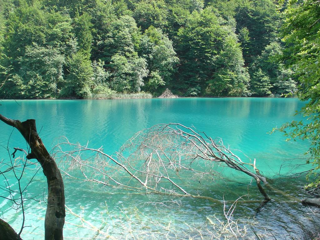 Пятое место: Плитвицкие озера.