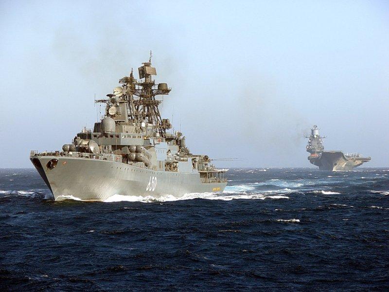 Мощь военно-морского флота России