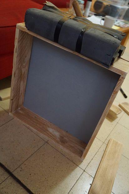 Ящик для инструментов из поддона