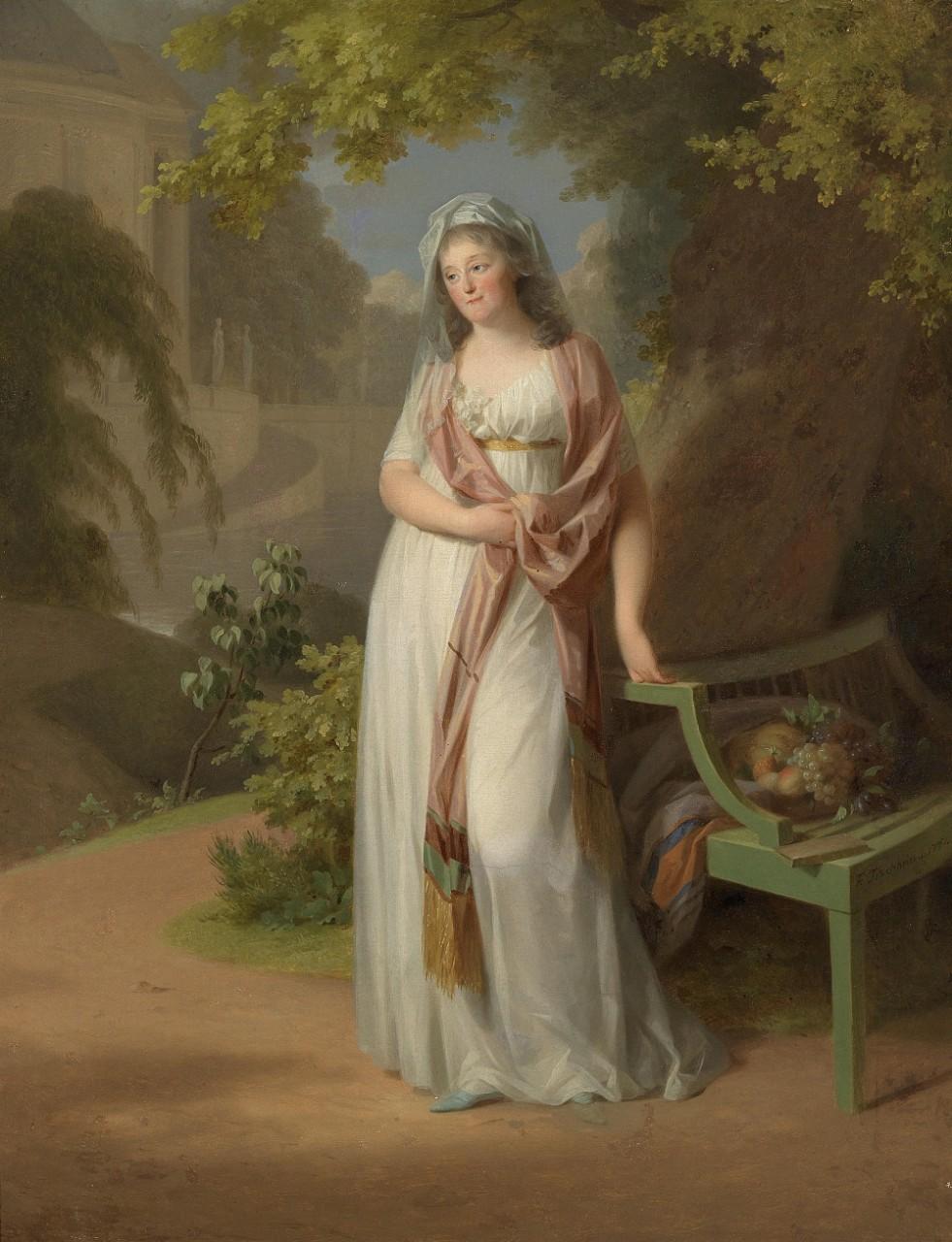 Тишбейн, Иоганн Фридрих Аугуст (1750 — 1812) | Женский портрет