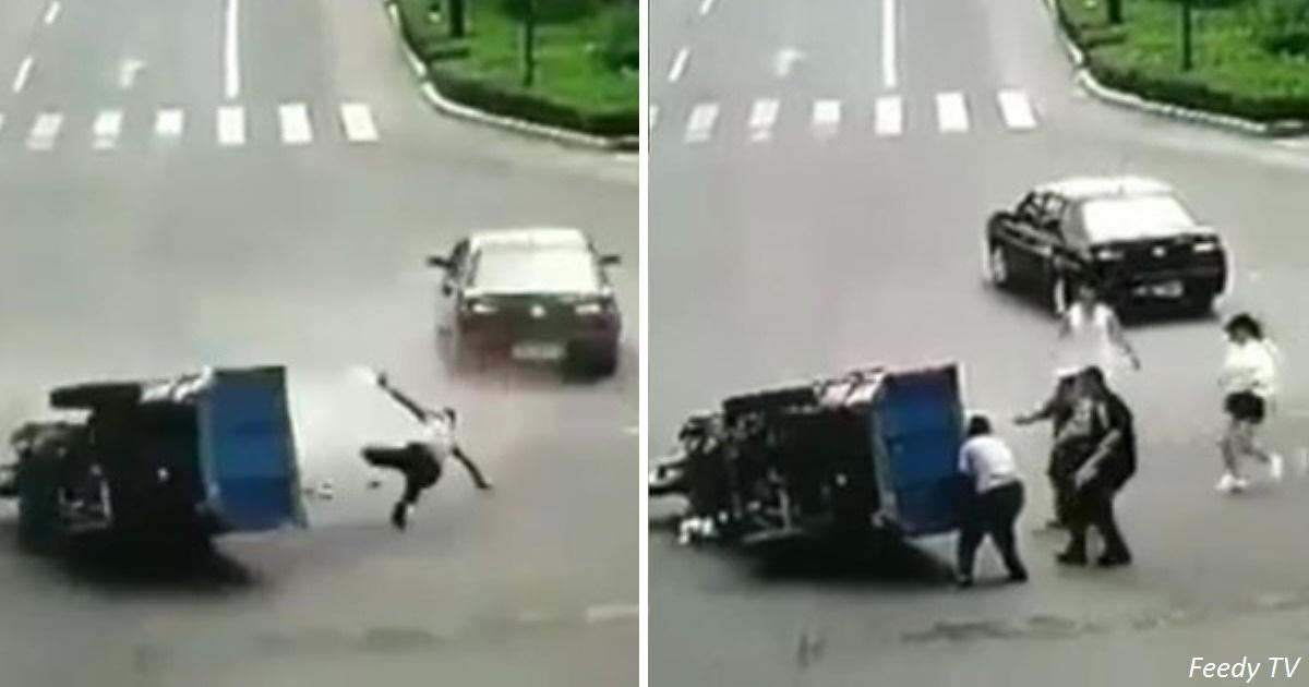 Самый везучий человек в мире пережил 3 аварии подряд - и остался жив!