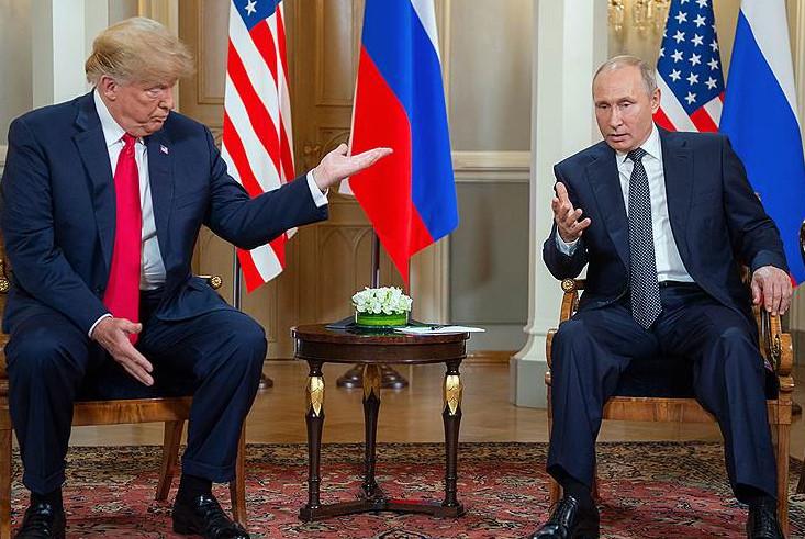Путин предложил Трампу встретиться в Париже 11 ноября