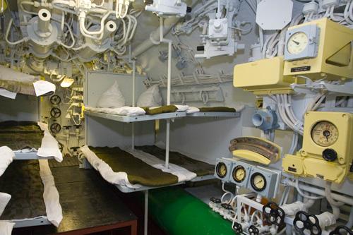 фото внутренних отсеков подводной лодки
