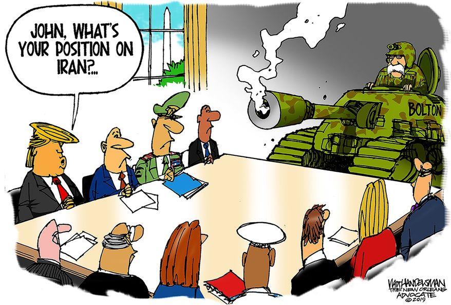 Пропаганда и американские военные приготовления против Ирана