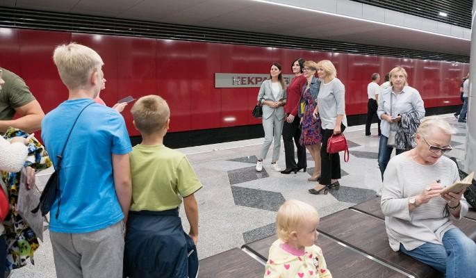 Как Кожуховская линия метро …
