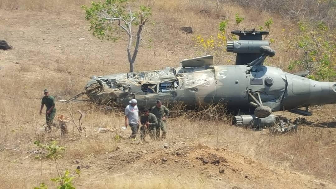 Потерян венесуэльский Ми-35М