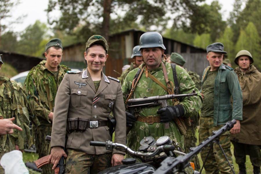 А в Беларуси тем временем, бьют фашистов. (ФОТОРЕПОРТАЖ)