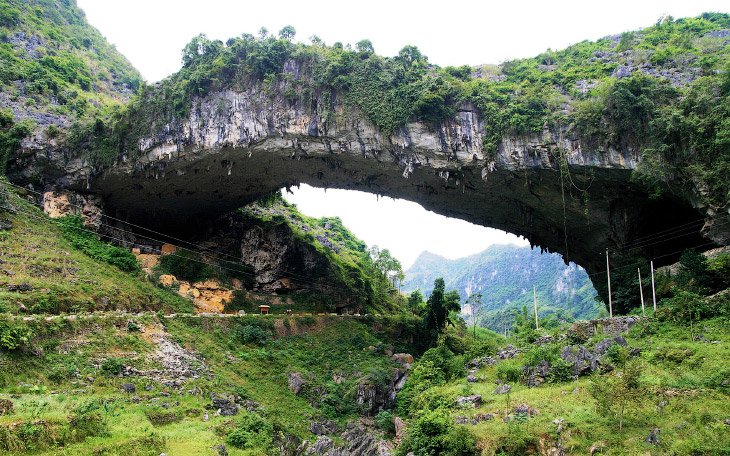 Как выглядит крупнейший природный мост