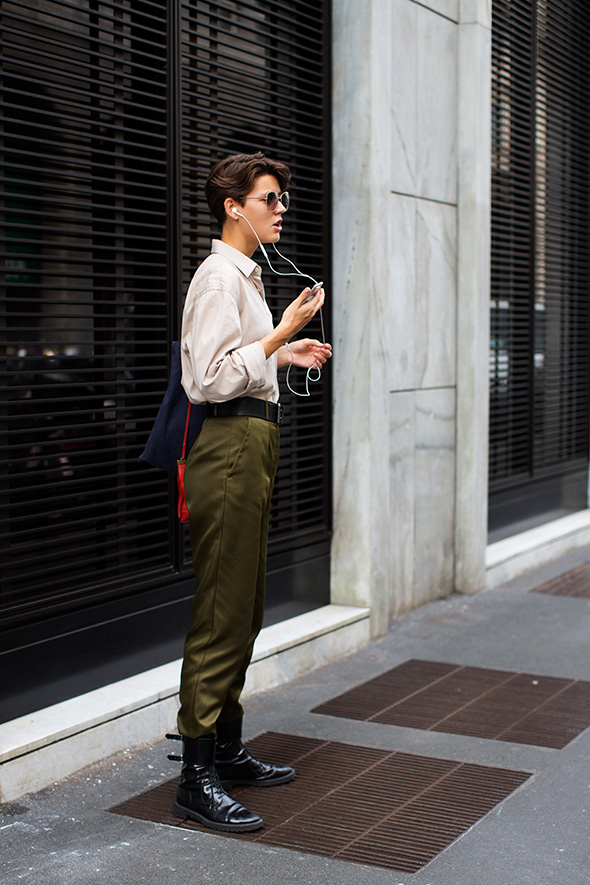 On the Street…Corso Matteotti, Milan