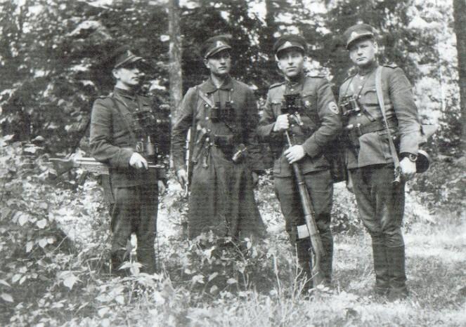 «Лесные братья»: ночные властители Прибалтики