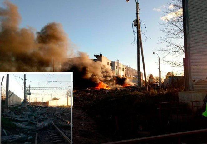 Два человека погибли в результате взрыва в Гатчине на заводе «Авангард»
