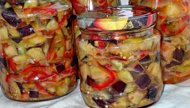Баклажаны на зиму - 3 простых рецепта