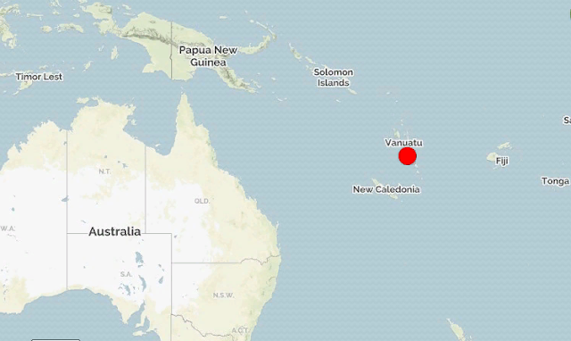 Вануату. Землетрясение магнитудой 6.1